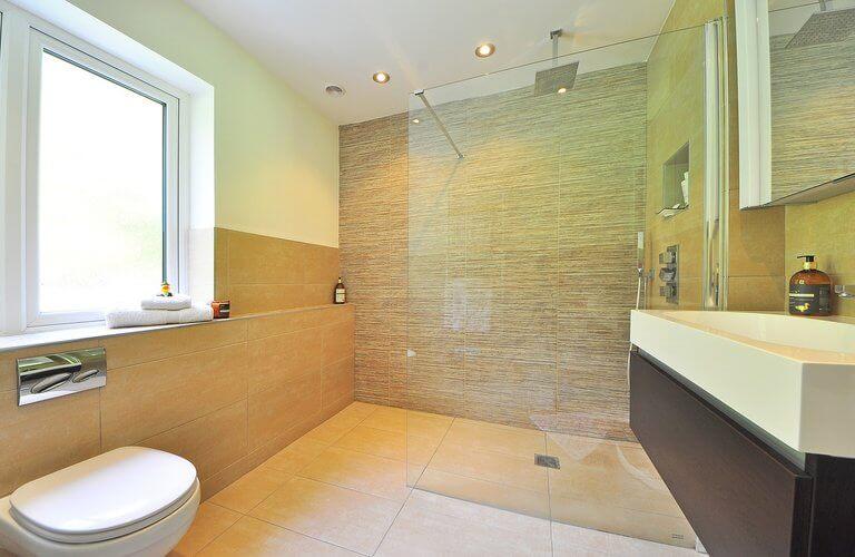 walk in tuš - renoviranje kupaonice